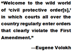 Eugene Volokh, First Amendment, freedom of speech, The Volokh Conspiracy